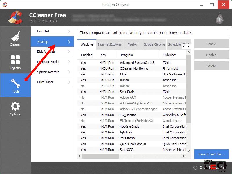 Remove Windows Right Click Options