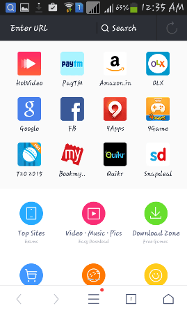 Essential apps for browsing