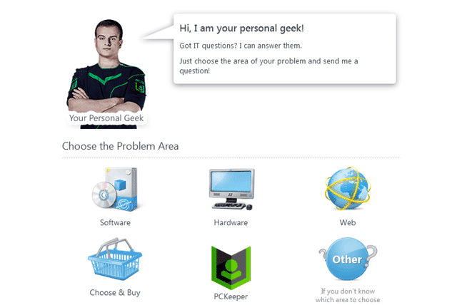 PCKeeper Live Geek on Demand