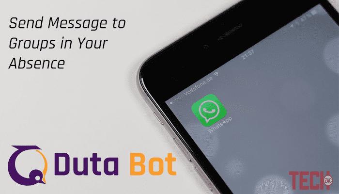 Duta WhatsApp Bot Service