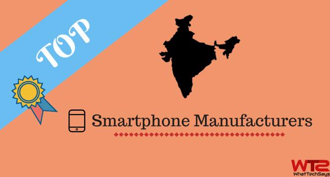 Smartphone Manufacturers in India