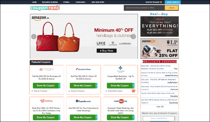 CouponRani Review – Best Deals, Coupons and Promo Codes