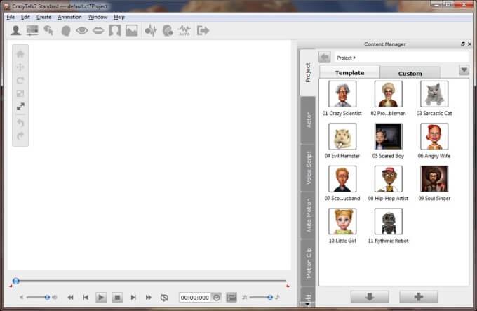 CrazyTalk 7 Facial Animation Software