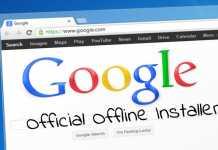 Official Google Chrome Standalone Offline Installer