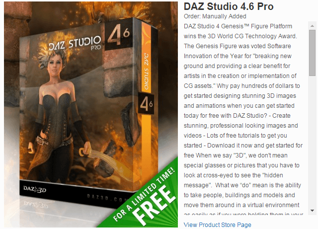Daz Studio Pro Free Download with Serial