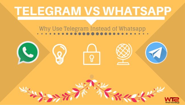 Why Use Telegram Instead of Whatsapp