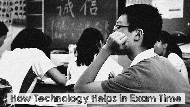 How Technology Helps in Exam Time