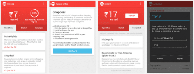 Android Apps to Get Free Recharge