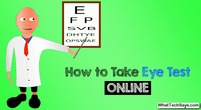 Eye Test Online