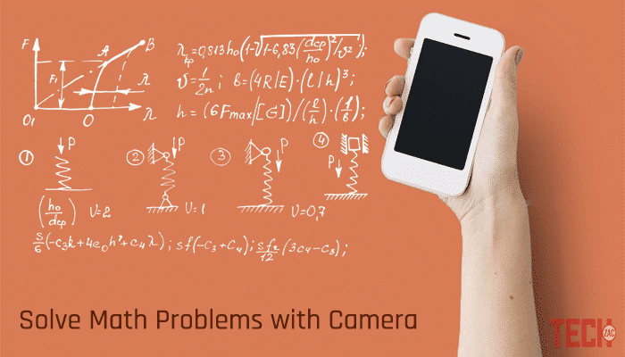 App that Solves Math Problems by Taking a Picture