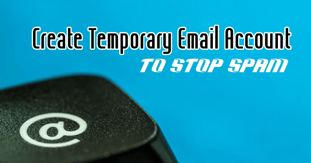 Create Temporary Email Account