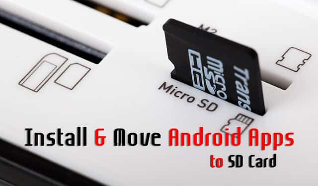 Android Apps to SD Card