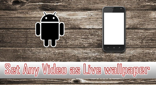 Video Live Wallpaper App for video wallpapers