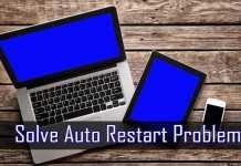 Solve Auto Restart Problem