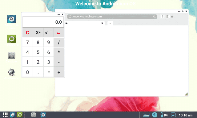 Turn Android into Windows