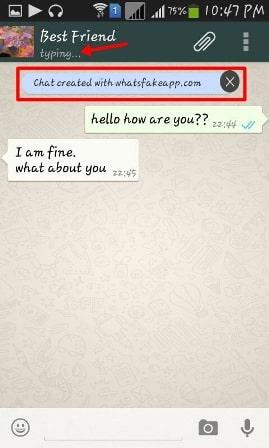 Create Fake Whatsapp Conversation