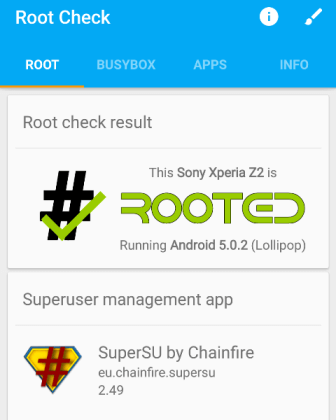 Root Xperia Z3 Lollipop