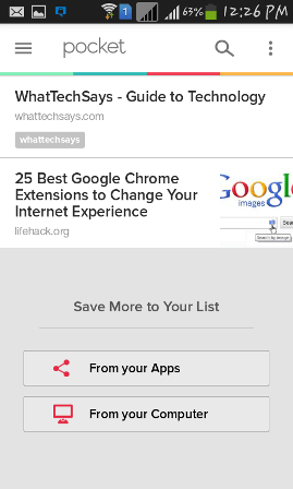Essential apps for offilne reading