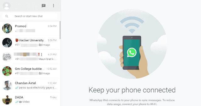 Whatsapp tricks to switch in chrome