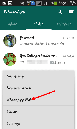 Whatsapp tricks for web