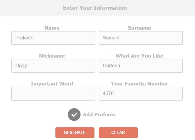 cool username generator