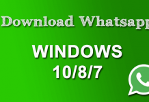 Free Download Whatsapp for Windows