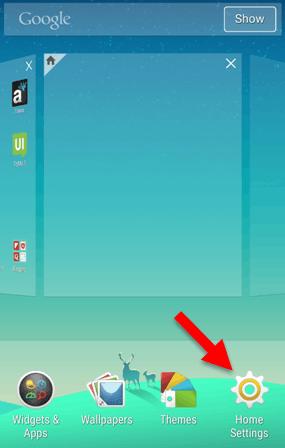 Change Icon Size Xperia