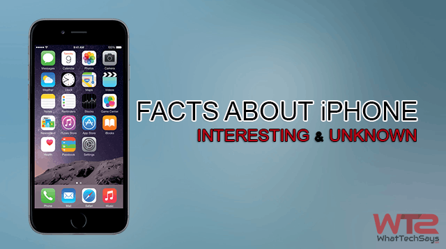 Facts about the iPhone