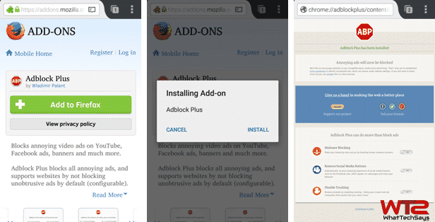 android adblock without root