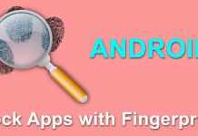 Lock Apps with Fingerprint on Android without a Fingerprint Scanner