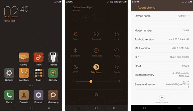 Download and Install MIUI 7 on Xperia