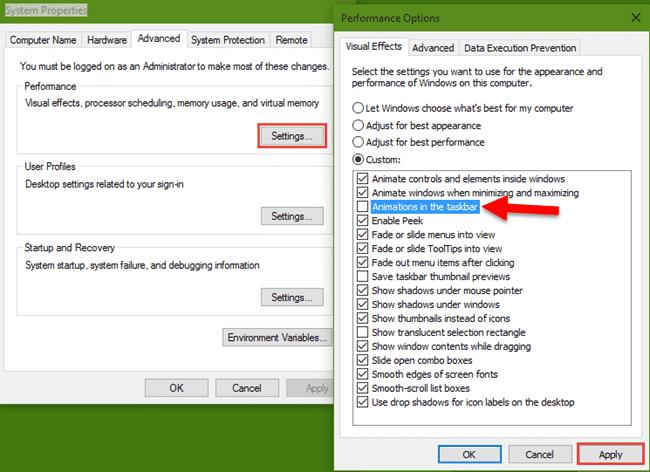 Fix Windows 10 Slow Taskbar and Start Menu