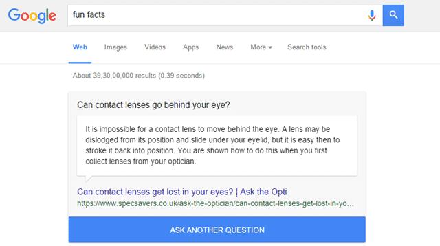 A New Google Trick