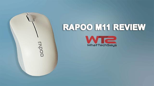 Rapoo M11 Review