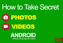How to Take Secret Pictures with Android