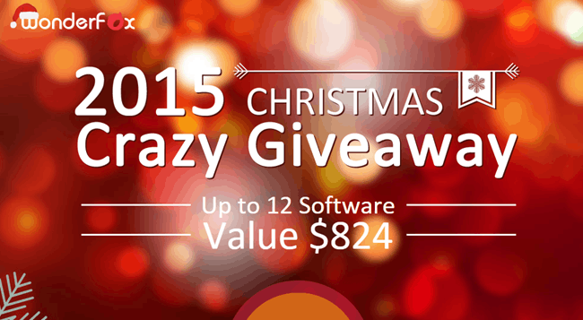 Crazy Christmas Most Wanted Software Giveaway