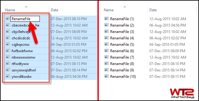 Batch Rename Files in Windows