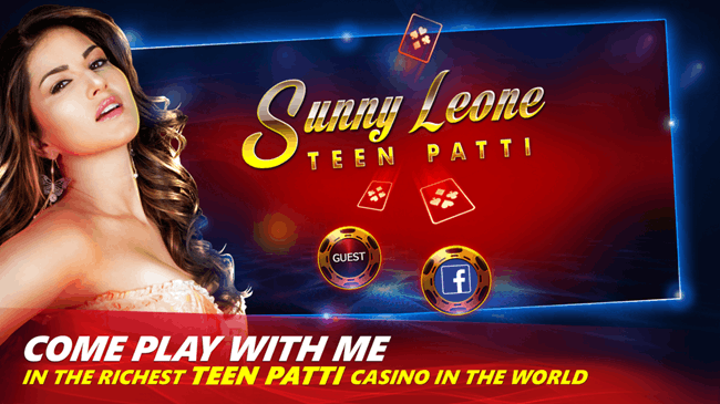 Play Teen Patti with Sunny Leone on Android