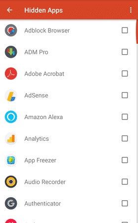 Unhide Apps on Launcher