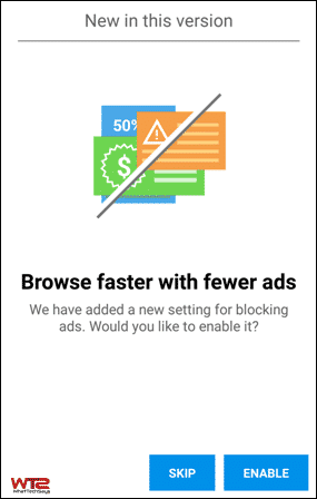 Block Ads on Opera Mini for Android