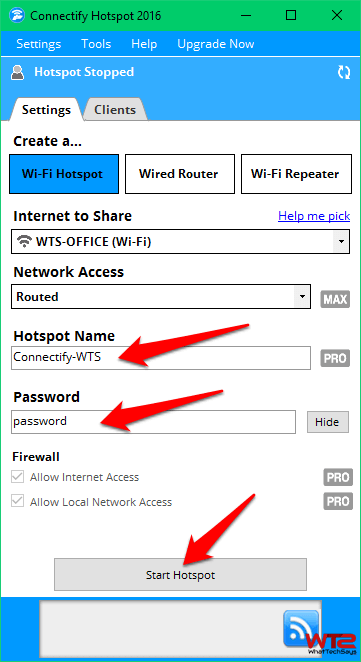 Reverse Tethering without Rooting via WIFI