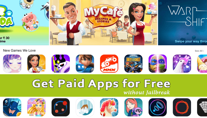 Get Paid Apps for Free without Jailbreak