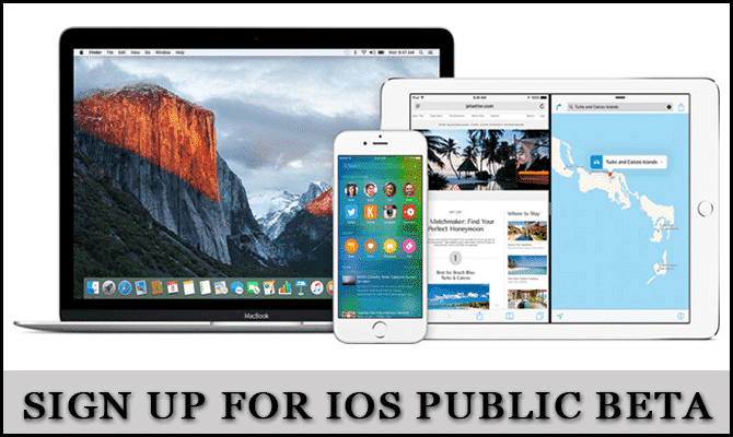 How to Sign Up for iOS Public Beta Program