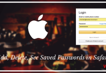 How to Add, Delete, See Saved Passwords in Safari on iPhone