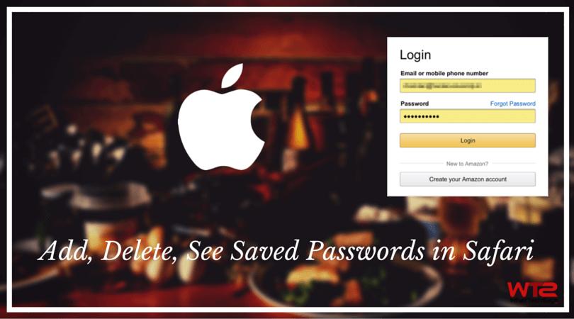 how to delete username autofill on mac