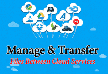 Manage and Transfer Files Between Cloud Services