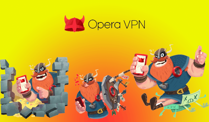 Opera Unlimited Free VPN App