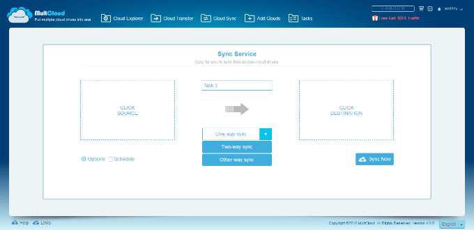 How to Manage, Transfer and Syns Files Between Cloud Services