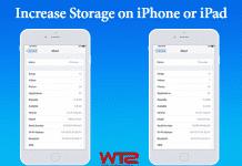 Increase Storage on iPhone or iPad