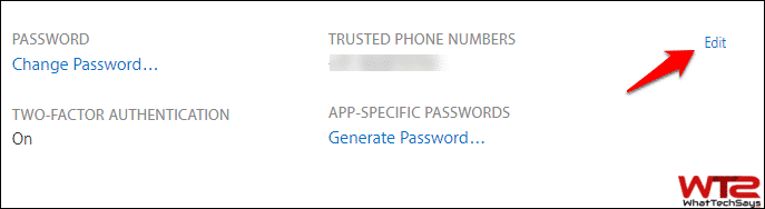 Revoke App-specific Passwords